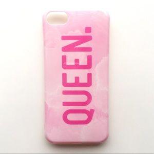 "Accessories - iPhone 7/7+/8/8+ ""Pink Marble QUEEN"""